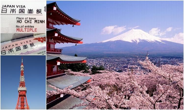 Xin Visa đi Nhật