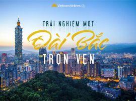 Vé máy bay Sài Gòn Đài Bắc chỉ từ 100 USD