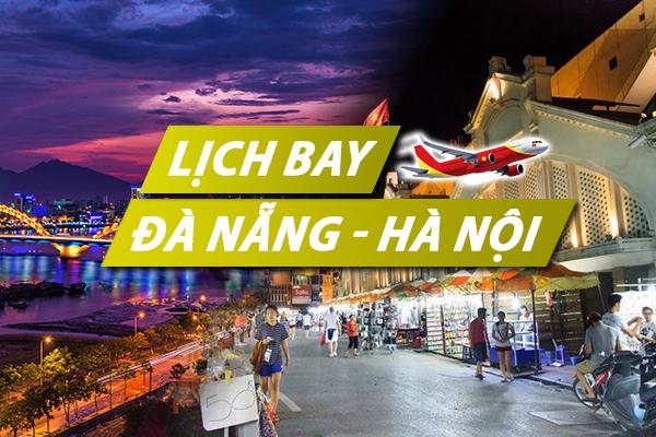 Lịch bay Đà Nẵng Hà Nội chi tiết của Vietnam Airlines, Vietjet, Pacific Airlines